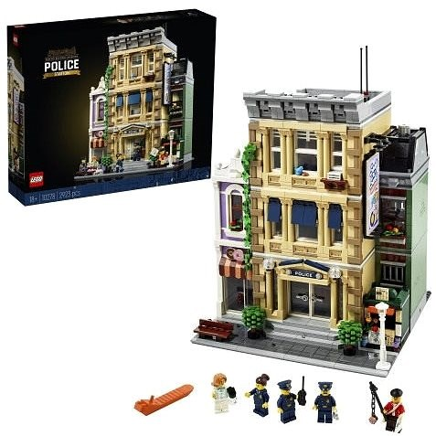LEGO® Creator 10278 Policajná stanica - LEGO stavebnica