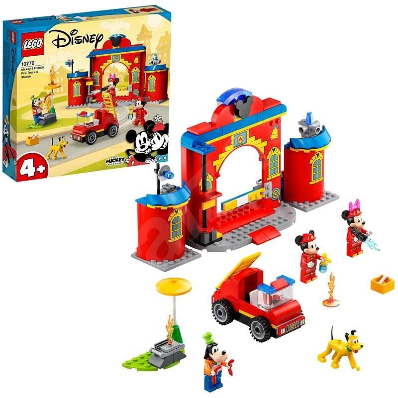 LEGO® | Disney Mickey and Friends 10776 Hasičská stanica a auto Mickeyho a priateľov - LEGO stavebnica
