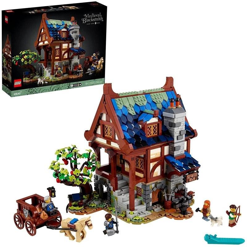 LEGO® Ideas 21325 Stredoveká kovárňa - LEGO stavebnica