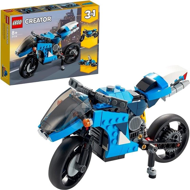 LEGO Creator 31114 Supermotorka - LEGO stavebnica