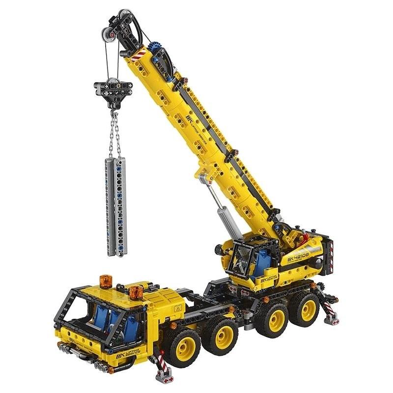 LEGO Technic 42108 Pojazdný žeriav - LEGO stavebnica