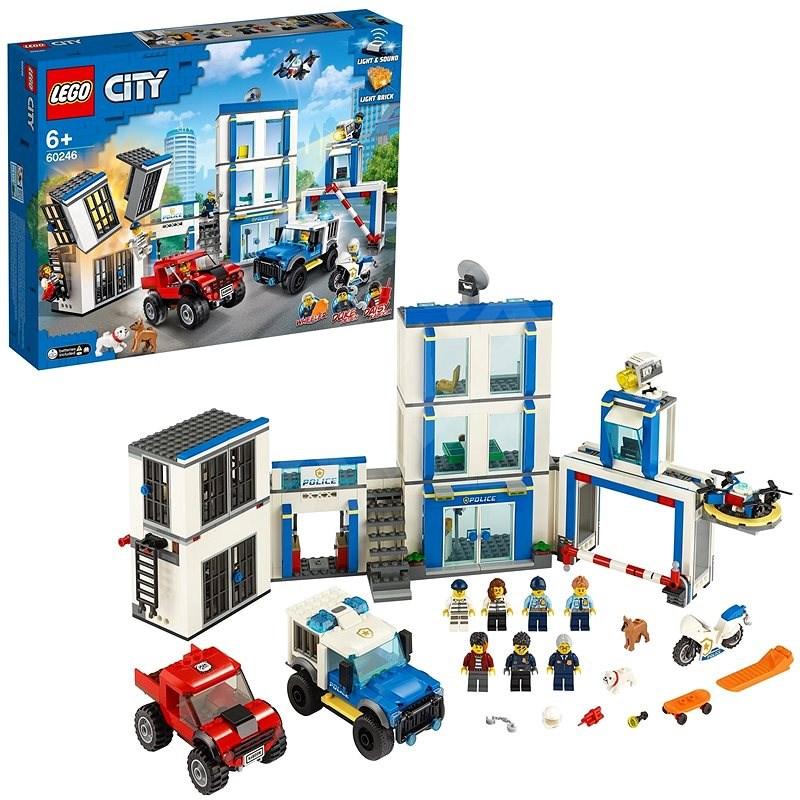 LEGO City Police 60246 Policajná stanica - LEGO stavebnica
