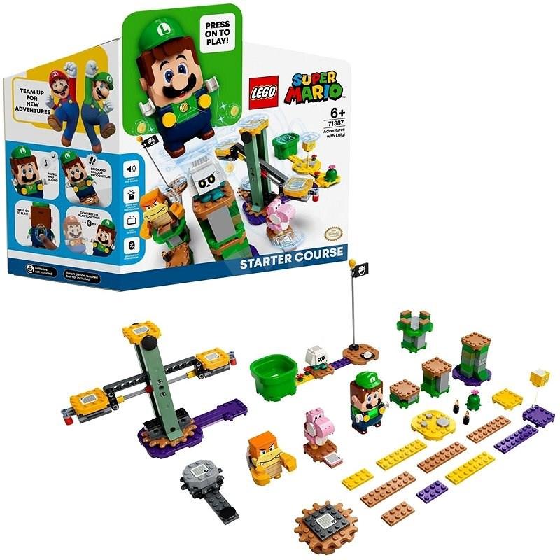 LEGO® Super Mario™ 71387 Dobrodružstvo s Luigim – štartovacia sada - LEGO stavebnica
