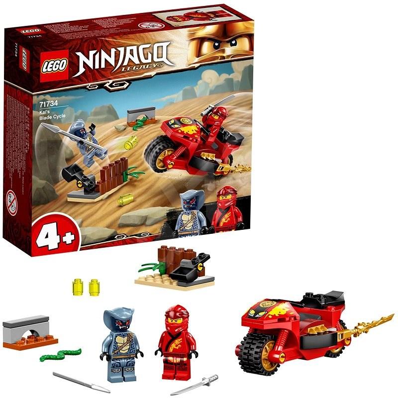LEGO® NINJAGO® 71734 Kaiova motorka s čepeľami - LEGO stavebnica