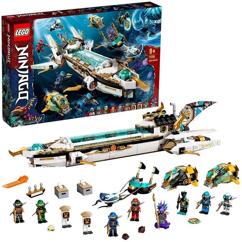 LEGO® NINJAGO® 71756 Odmena na vlnách - LEGO stavebnica