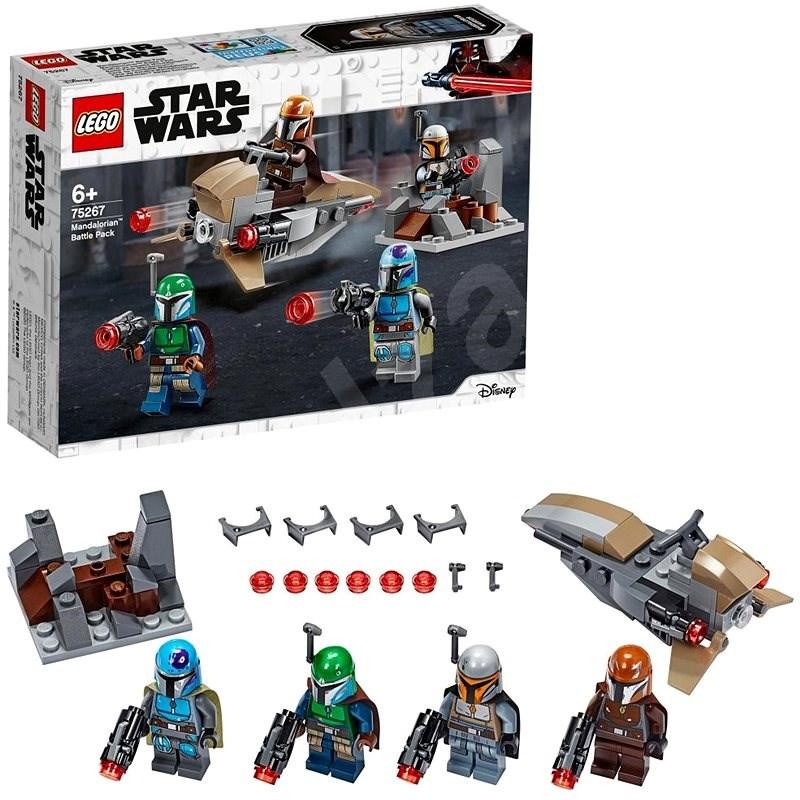 LEGO Star Wars 75267 Bojový balíček Mandaloriánov - LEGO stavebnica