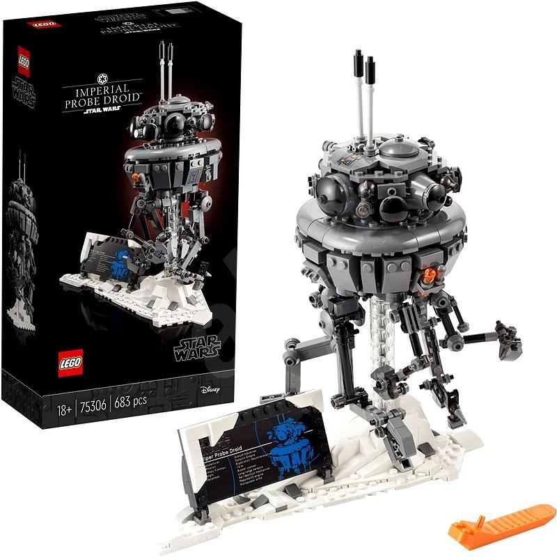 LEGO Star Wars TM 75306 Imperiálny prieskumný droid - LEGO stavebnica