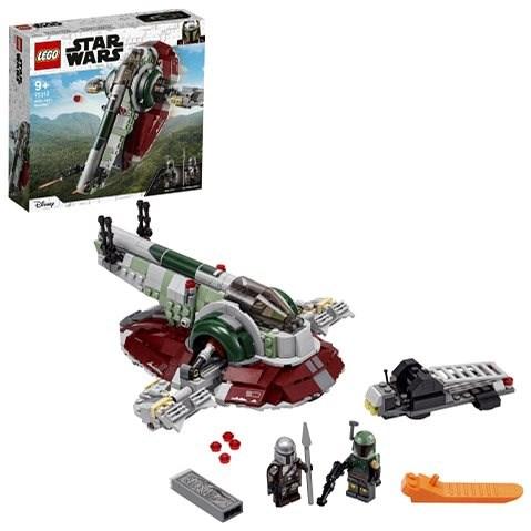 LEGO® Star Wars™ 75312 Boba Fett ajeho kozmická loď - LEGO stavebnica