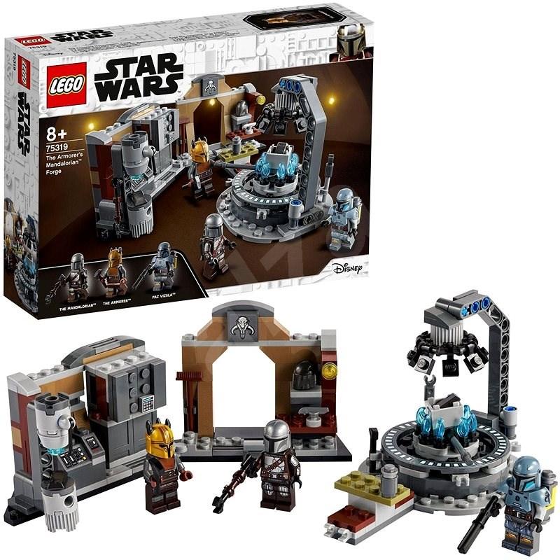 LEGO® Star Wars™ 75319 Kováčňa mandaloriánskej zbrojmajsterky - LEGO stavebnica