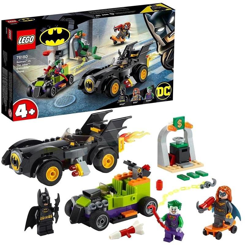 LEGO® Super Heroes 76180 Batman™ vs.Joker™: Naháňačka vBatmobile - LEGO stavebnica