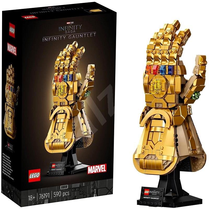 LEGO® Marvel Avengers 76191 Nekonečná rukavica - LEGO stavebnica