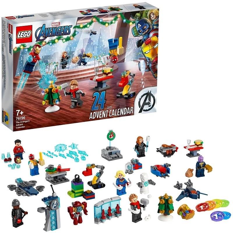 LEGO® Marvel Avengers 76196 Adventný kalendár - Adventný kalendár