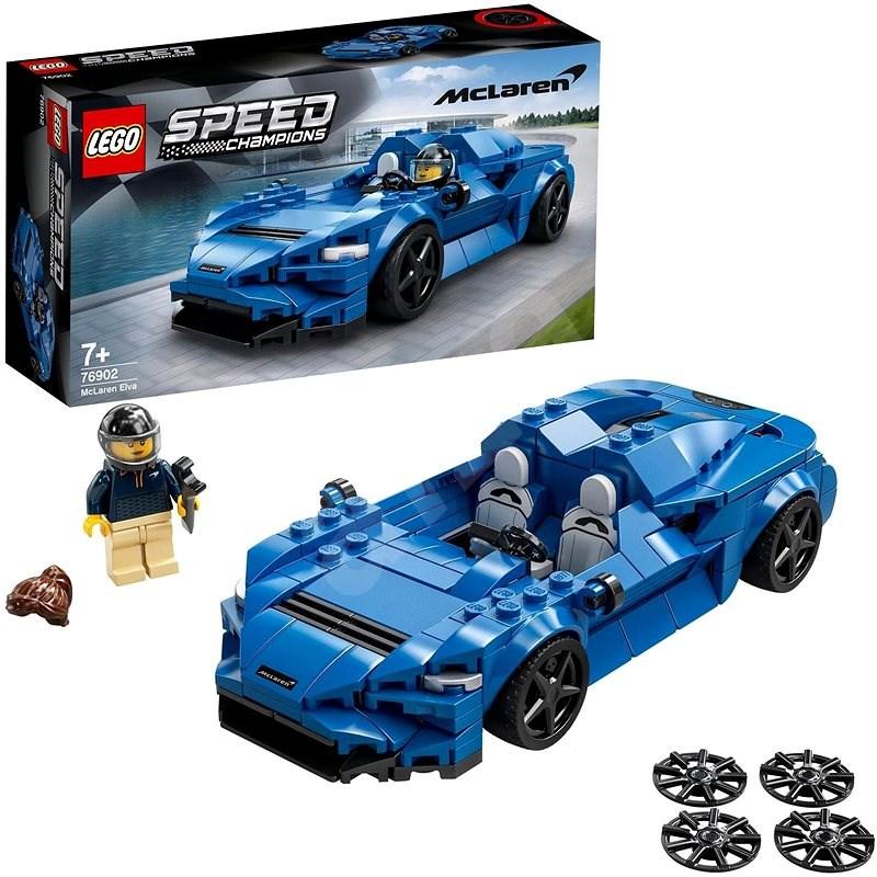 LEGO Speed Champions 76902 McLaren Elva - LEGO stavebnica