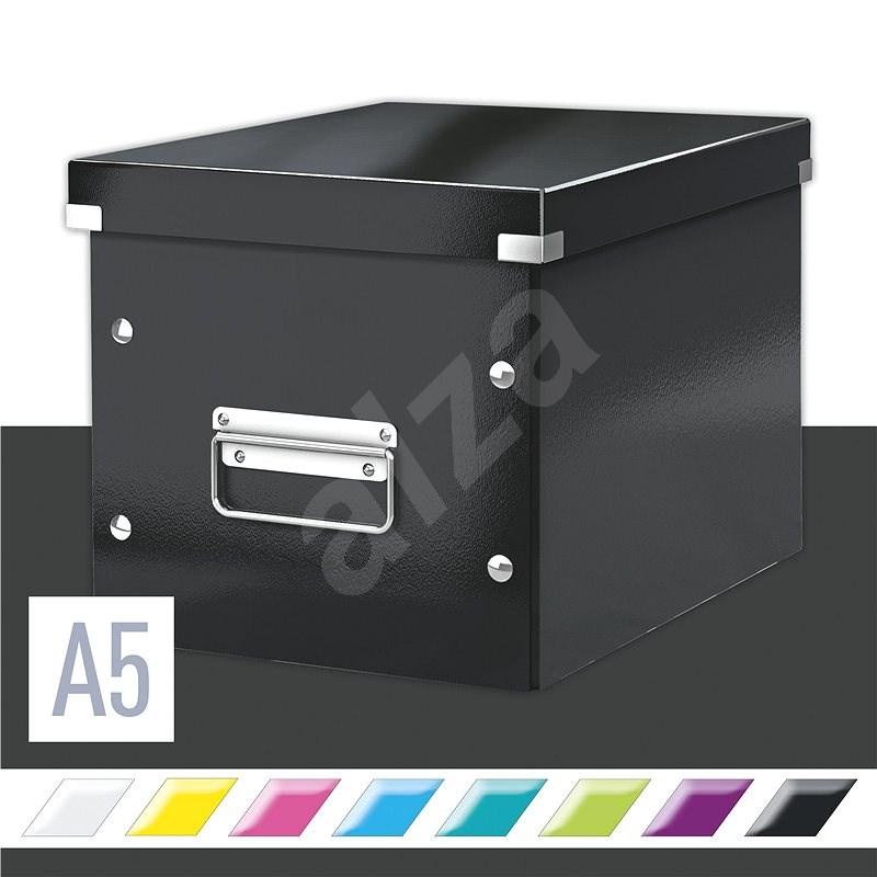 Leitz WOW Click & Store 16,22 l, čierna - Archivačná škatuľa