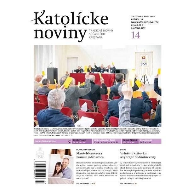 Katolícke noviny - 14/2019 - Elektronický časopis
