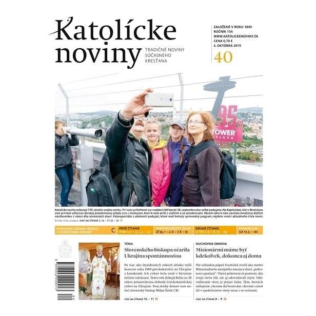 Katolícke noviny - 40/2019 - Elektronický časopis