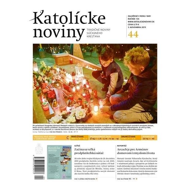 Katolícke noviny - 44/2019 - Elektronický časopis