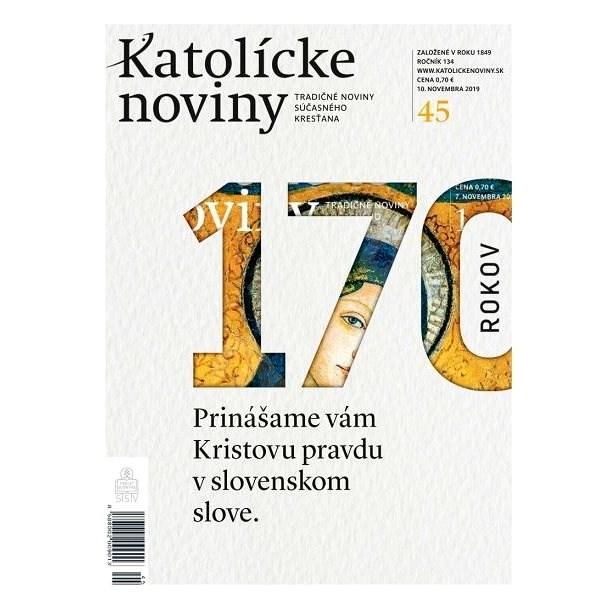 Katolícke noviny - 45/2019 - Elektronický časopis