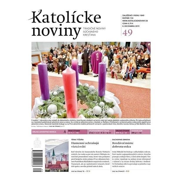 Katolícke noviny - 49/2019 - Elektronický časopis