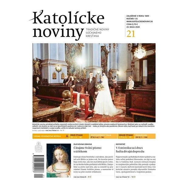 Katolícke noviny - 21/2020 - Elektronický časopis