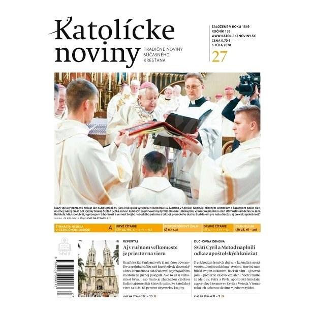 Katolícke noviny - 27/2020 - Elektronický časopis
