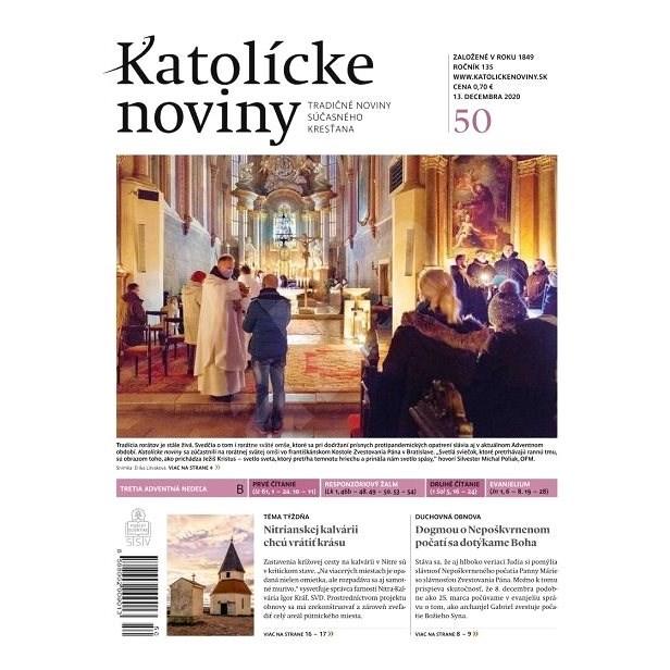 Katolícke noviny - 50/2020 - Elektronické noviny