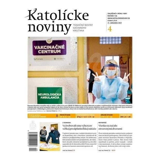 Katolícke noviny - 04/2021 - Elektronické noviny