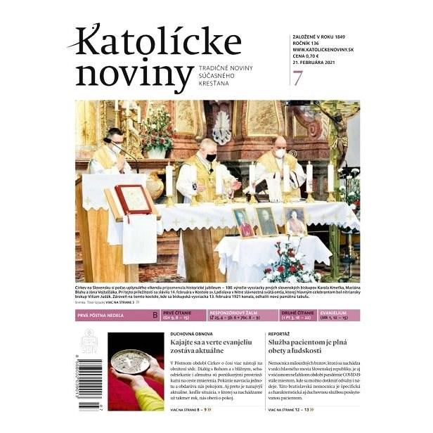Katolícke noviny - 07/2021 - Elektronické noviny