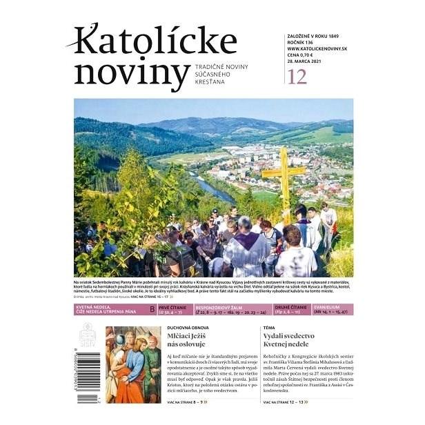 Katolícke noviny - 12/2021 - Elektronické noviny