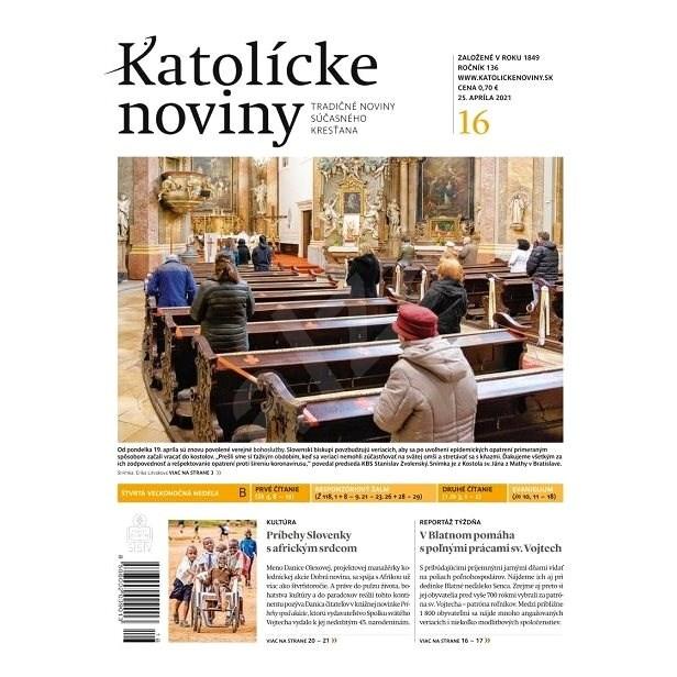 Katolícke noviny - 16/2021 - Elektronické noviny