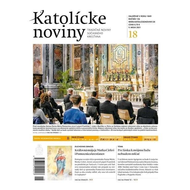 Katolícke noviny - 18/2021 - Elektronické noviny