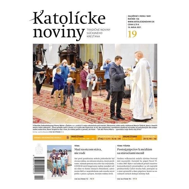 Katolícke noviny - 19/2021 - Elektronické noviny
