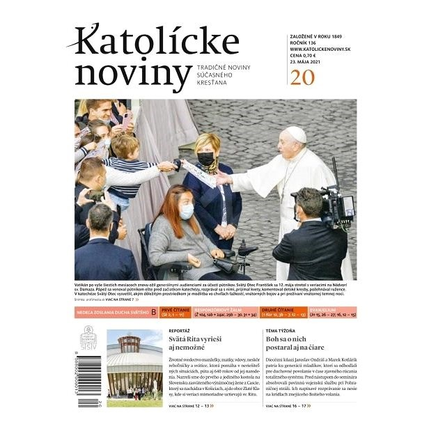Katolícke noviny - 20/2021 - Elektronické noviny