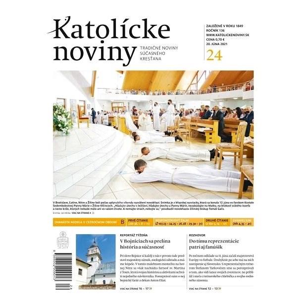 Katolícke noviny - 24/2021 - Elektronické noviny