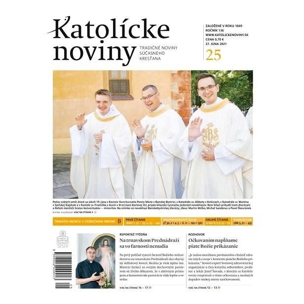 Katolícke noviny - 25/2021 - Elektronické noviny