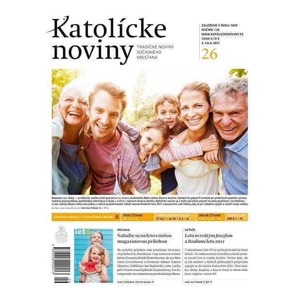 Katolícke noviny - 26/2021 - Elektronické noviny