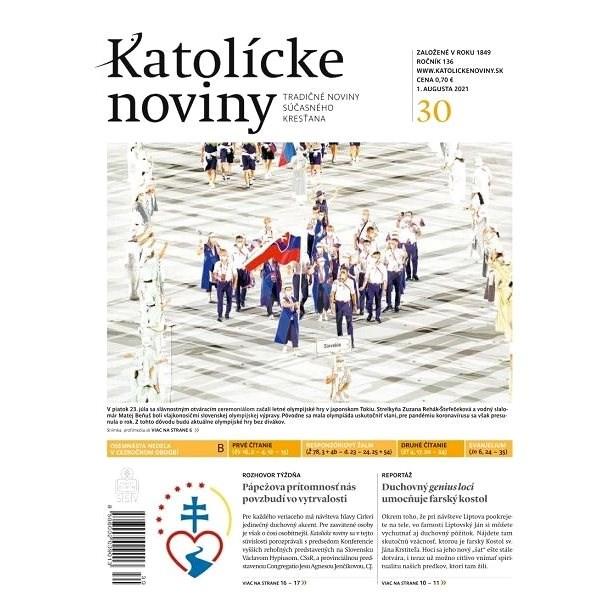 Katolícke noviny - 30/2021 - Elektronické noviny