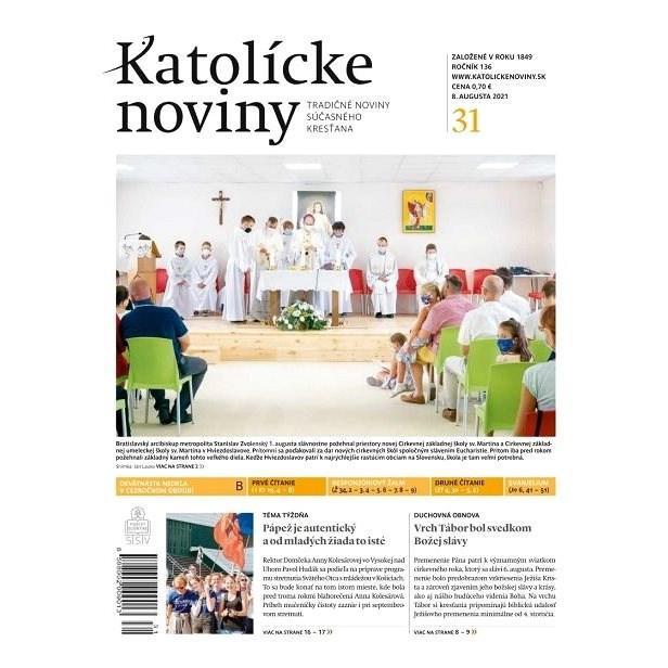 Katolícke noviny - 31/2021 - Elektronické noviny