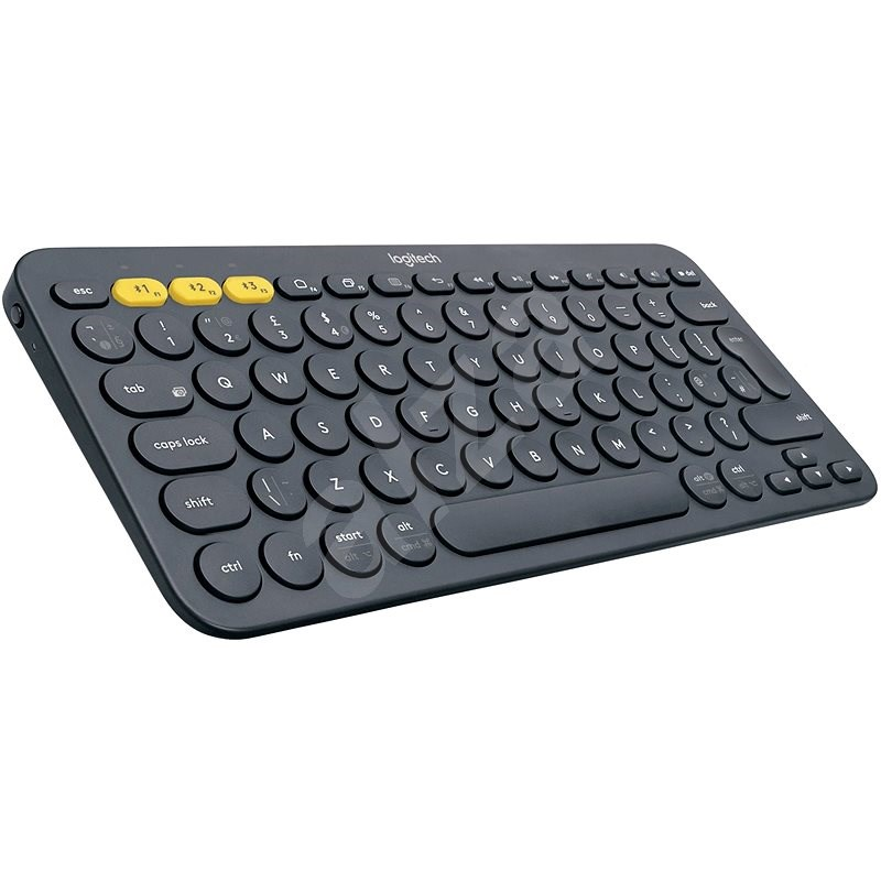Logitech Bluetooth Multi-Device Keyboard K380 tmavosivá - Klávesnica