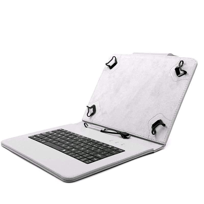 C-TECH PROTECT NUTKC-02 šedej - Puzdro na tablet s klávesnicou