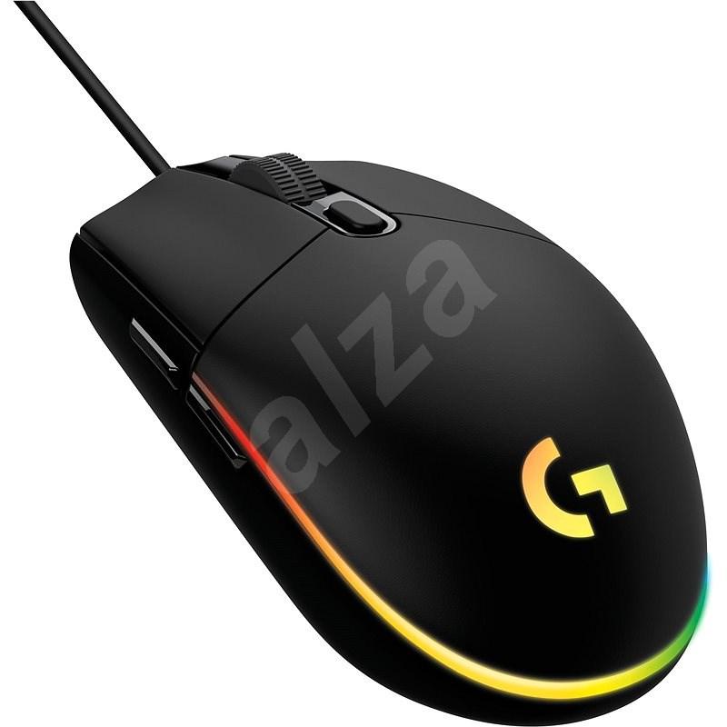 Logitech G102 Lightsync, black - Herná myš