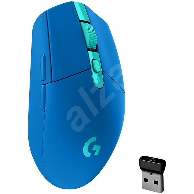 Logitech G305 Recoil modrá - Herná myš