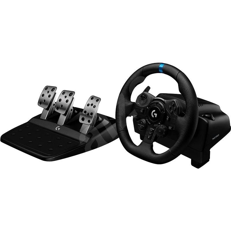 Logitech G923 Driving Force pre PC/PS4 - Volant