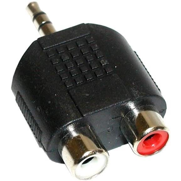 Audio 3.5 mm JACK --> 2x cinch - Redukcia