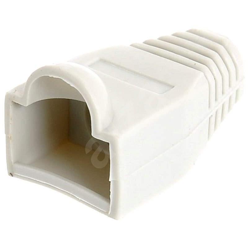 10-pack, plastová, sivá, Datacom, RJ45 - Kryt konektora
