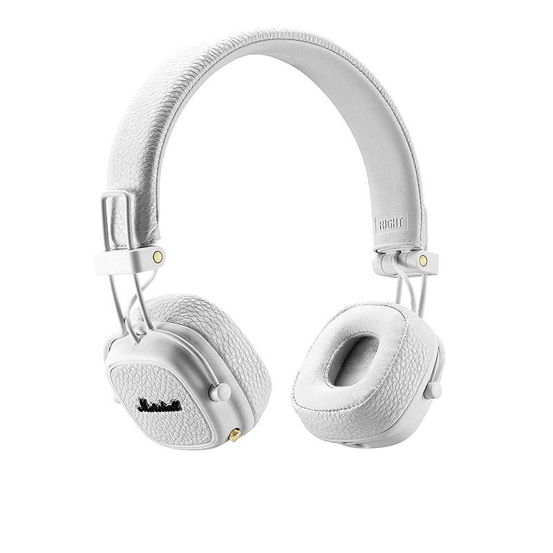 Marshall Major III Bluetooth biele - Bezdrôtové slúchadlá