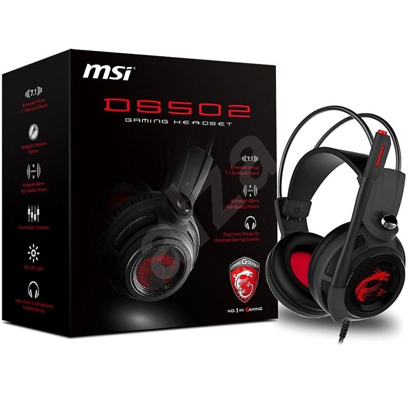 MSI DS502 - Herné slúchadlá