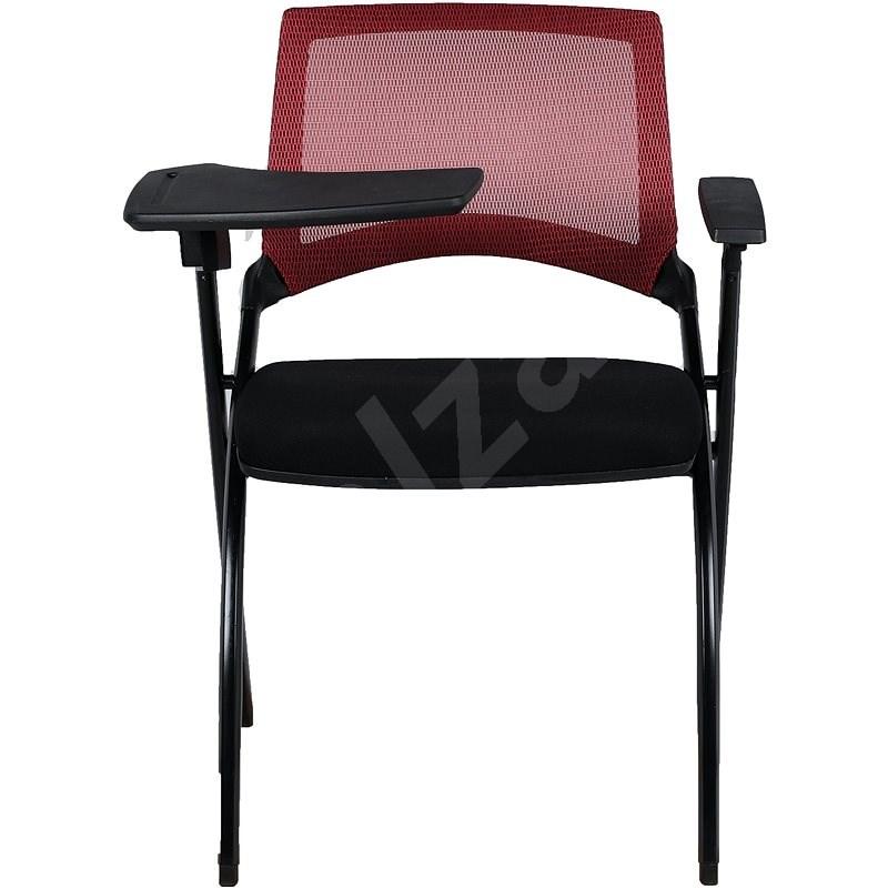 MOSH 1509 červeno-čierna – balenie 2 ks - Konferenčná stolička