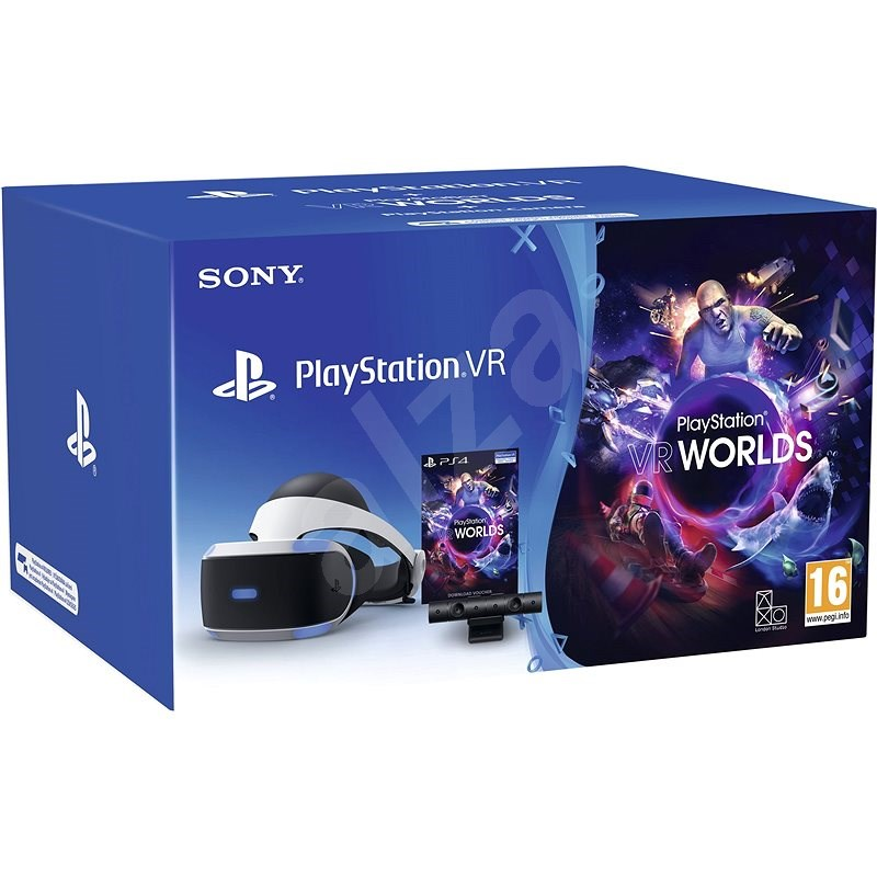 PlayStation VR pro PS4 + hra VR Worlds + PS4 Kamera - Okuliare na virtuálnu realitu