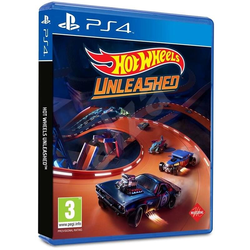 Hot Wheels Unleashed – PS4 - Hra na konzolu